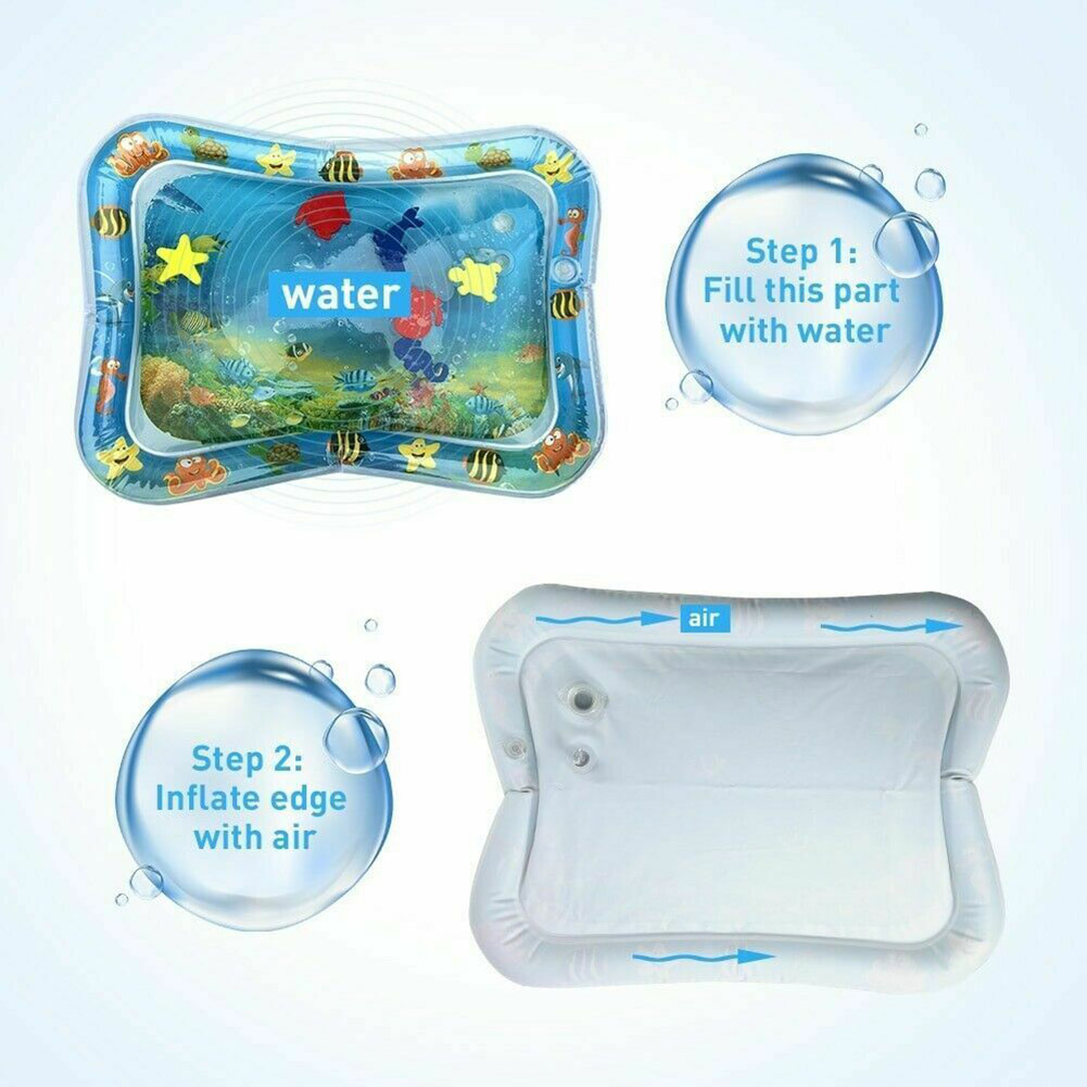 Water Filled Baby Inflatable Patted Pad Inflatable Water Cushion Playmat For Kids High Quality