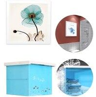 Slingifts Folding Storage Shelf,Wall Picture Painting Folding Shelf Storage Organizer Bathroom Clothes Closet