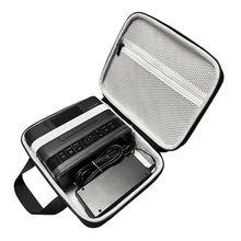 السفر واقية حمل حقيبة التخزين سستة الحقيبة إيفا الحقيبة كم لكانون SELPHY CP1200 و CP1300 اللاسلكية المدمجة