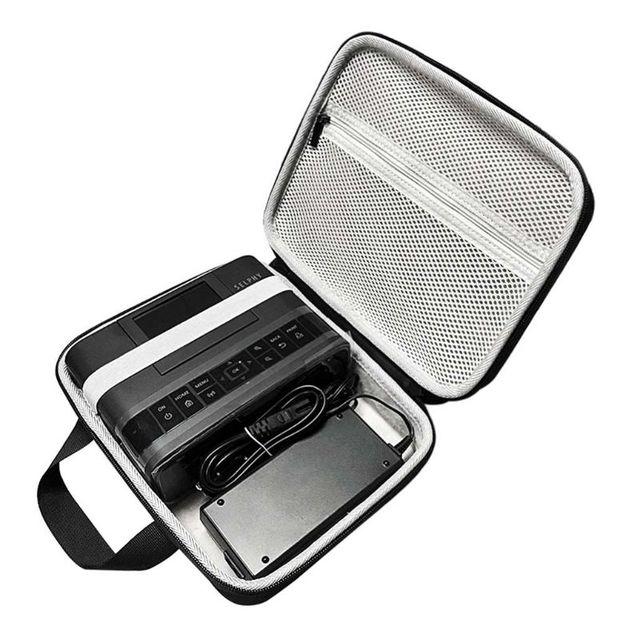 Sac de rangement de transport de protection de voyage pochette à fermeture éclair pochette EVA pour Canon SELPHY CP1200 & CP1300 sans fil Compact