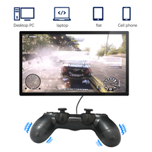 1PC Bluetooth Wireless/Wired Joystick for PS4 Controller Fit PS4 Gamepad fit Game Controller With Indicator Bar pad ps4 game controller ps4 bluetooth connection with touch pad elite controller ps4 game handles for ps4 console with 500mah