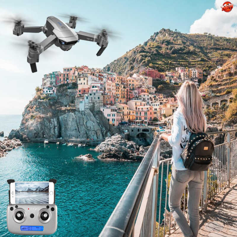 5G GPS Smart Anti-Shake Zoom Radio Control Quadcopter 500M GPS Me sigue Plan vuelo 4K UHD WIFI FPV APP Control RC Drone