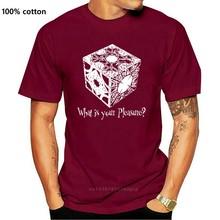 T-Shirt da uomo Hellraiser Pinhead Horror O-Neck in cotone