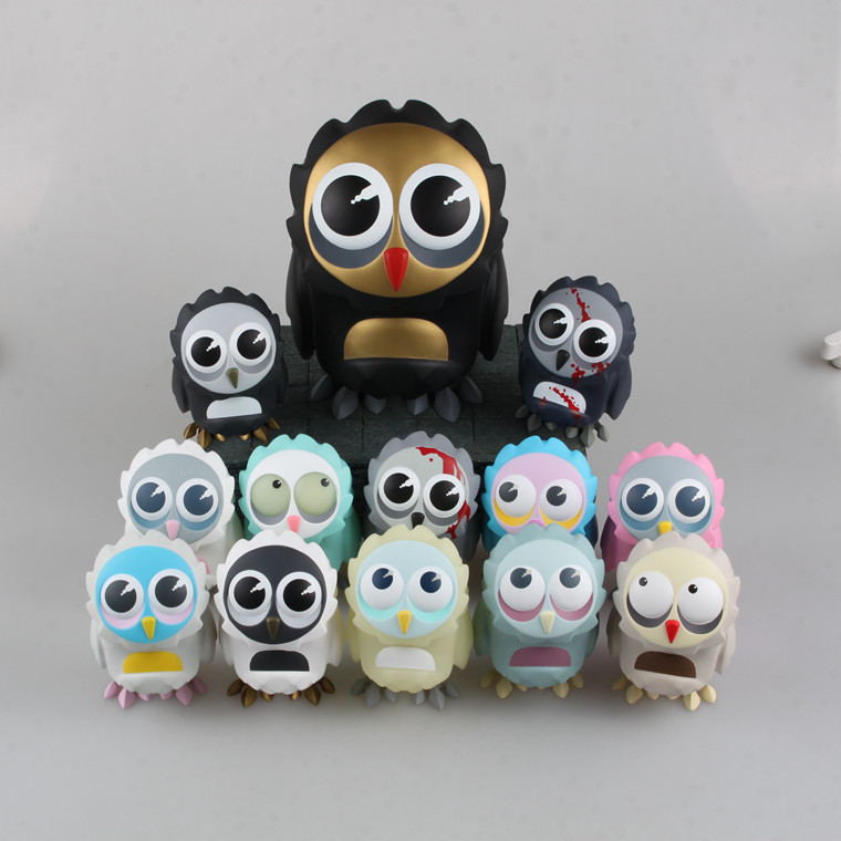Anime Toy Wholesale Coarsetoys Omen 12-3.5-Inch Owl Series Selectable Boxed Hand