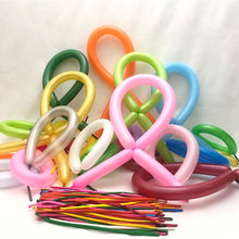 Thickened Color Long Balloon DIY System Modeling Creative Magic Stick Bar Toy Balloon Birthday Party Wedding Decoration Wholesal