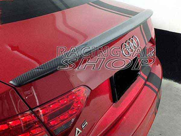 Real Carbon Fiber C STYLE TRUNK BOOT SPOILER Fit For AUDI A5 COUPE 8T3 2008UP  A029