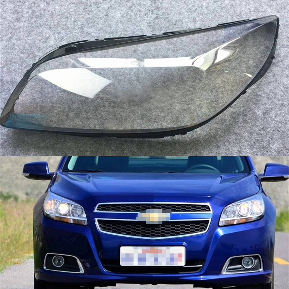 Car Headlamp Lens For Chevrolet Malibu 2012 2013 2014  Car Headlight  Replacement  Lens Auto Shell Cover