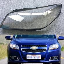 Car Headlamp Lens For Chevrolet Malibu 2012 2013 2014  Car Headlight  Replacement  Lens Auto Shell Cover