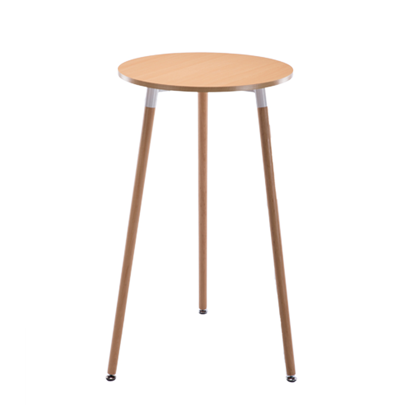 Small Bar Table, Household Table And Chair Set, Simple Modern Northern Europe Bar, Coffee High Foot Round Table And Chair Combin