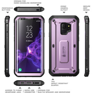 Image 5 - For Samsung Galaxy S9 Case (2018 Release ) SUPCASE UB Pro Full Body Rugged Holster Cover Case with Built in Screen Protector