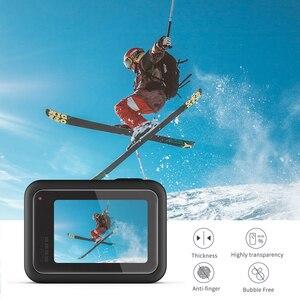 Image 5 - تبادل لاطلاق النار ل Gopro بطل 8 الأسود الزجاج المقسى حامي الشاشة شاشة LCD فيلم واقية ل الذهاب برو بطل 8 الذهاب برو 8 كاميرا الوصول
