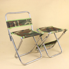 Camouflage Folding Portable Chair Lightweight Outdoor Fishing Bench Camping Accessories