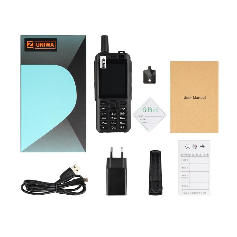 UNIWA Alpi F40 Zello Walkie Talkie Cellulare IP65 Impermeabile 2.4 Touch Screen 4G LTE MTK6737M Quad Core 1GB + 8GB Smartphone - 6