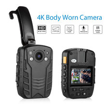 Мини камера boblov z6 нательная 4k hd 1440p полицейская безопасность