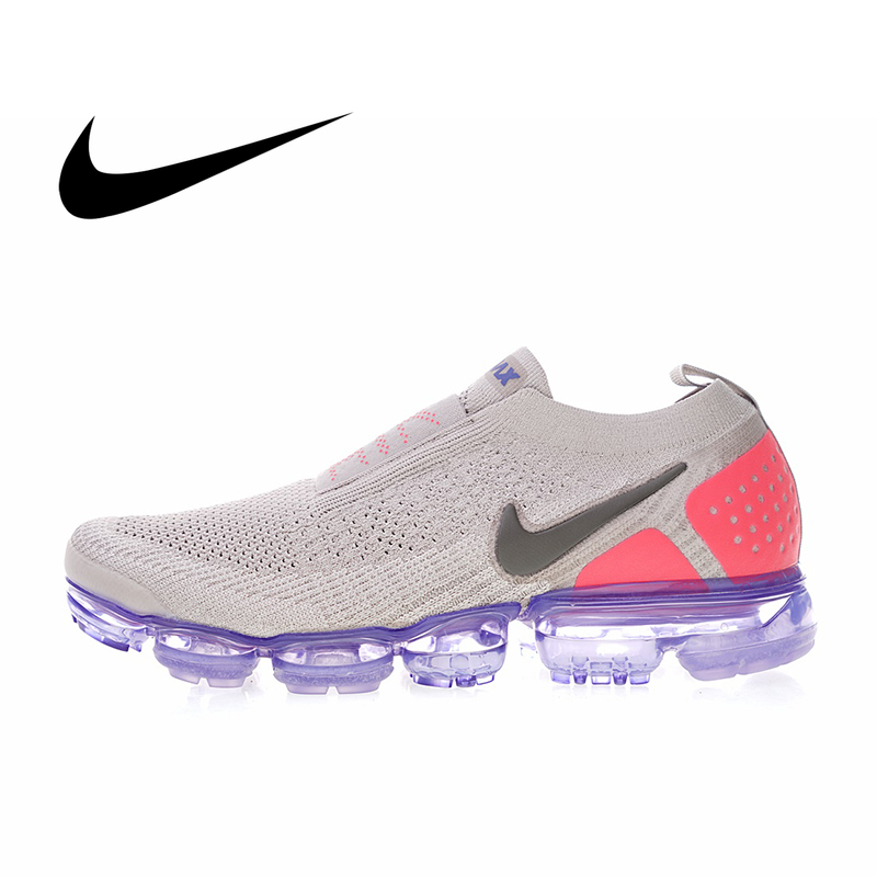 Original Authentic Nike Air VaporMax Moc 2 Men's Running Shoes Sneakers Sport Outdoor Good Quality Durable Classic AH7006-400