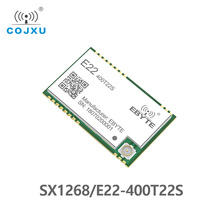 SX1268 TCXO UART LoRa Net Working E22 400T22S SMD Stamp Hole RSSI Wireless Transceiver 22dBm 433MHz  IPEX  RF Module Receiver