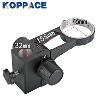 Comprar KOPPACE soporte de enfoque de microscopio estéreo negro diámetro de columna 25mm Diámetro de lente 76mm