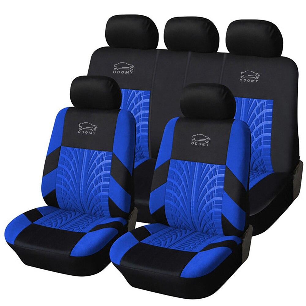 ODOMY универсальные автомобильные чехлы на сиденья машины Авто пылезащитный чехол для сиденья для автомобиля Роскошный чехол