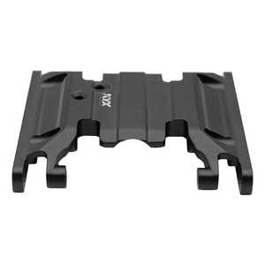 Image 3 - KYX Racing Gearbox Bottom Base Mount Middle Skid Plate Upgrades Parts Accessories for RC Crawler Car Axial SCX10 II 90046