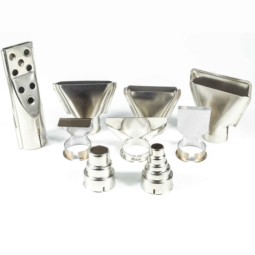 Heat Gun Nozzle Hot Air Gun Nozzles For Building Hair Dryers Spoon Reflector Scraper Cone Glass Protection Nozzle 35mm Diameter