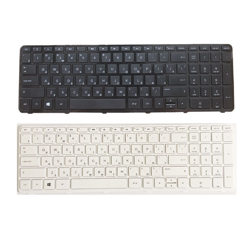 Russian Laptop Keyboard For HP Pavilion 15-N 15-E 15E 15N 15T 15 T -N 15-N000 N100 N200 15-E000 15-E100 RU With Frame NSK-CN6SC
