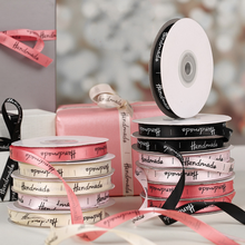 Polyester Ribbon Packaging-Accessories Bow-Craft Diy Decoration Gift Handmade Printed