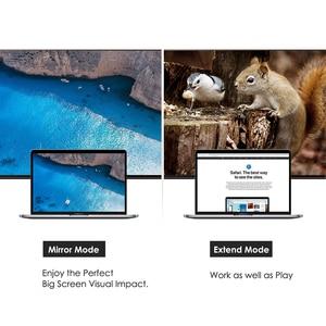 Image 4 - نشط دب ديسبلايبورت إلى دفي محول محول 4K ثندربولت ل آتي إيلافينيتي 6 شاشات متعددة دب صغير دفي 4K30HZ هدمي