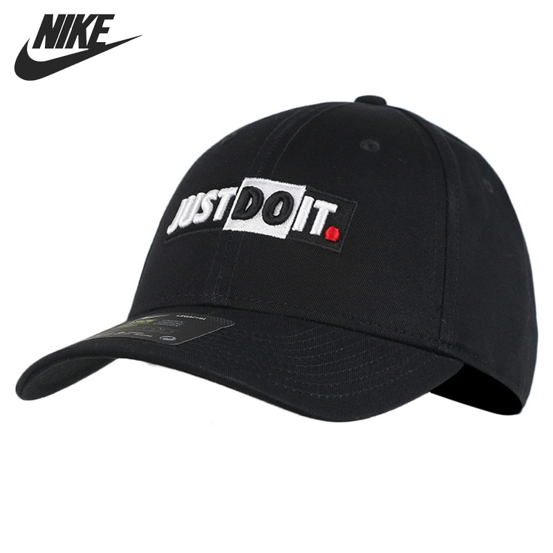 Original New Arrival  NIKE U NSW L91 CAP JDI+ BLOCK  Unisex  Baseball Sport Caps  Sportswear