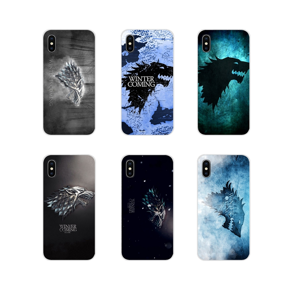Game Of Throne Winter Is Coming Silicone Case Cover For Xiaomi Mi4 Mi5 Mi5S Mi6 Mi A1 A2 5X 6X 8 9 Lite SE Pro Mi Max Mix 2 3 2S image