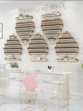 Wall hanging shelf nail shop nail polish display rack
