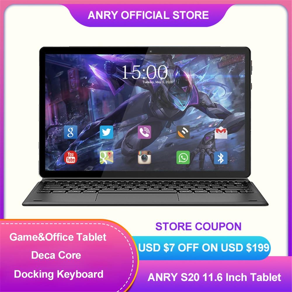 EU-RU-disponibile-ANRY-S20-Tablet-Android-11-6-pollici-Deca-Core-IPS-1920X1080-MTK6797T-X25 Offerta Tablet e Notebook Cinesi: Offerte Aliexpress 11° Anniversario fino al 2 Aprile 2021