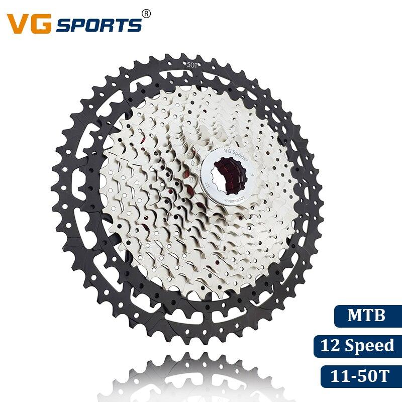 VG Sports 10 Speed 11-34T Cassette MTB Bike Freewheel Cassette for Shimano SRAM