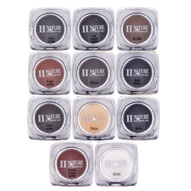 Encre de maquillage professionnelle, offre spéciale pièces, ensemble dencre pour tatouage à sourcils, 11 couleurs, approvisionnement en pigments de Microblading pour les lèvres, 10ML
