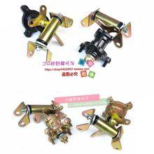 цена 1SET Steering Strut Knuckle Spindles with Brake Disc Wheel Hubs Fit For China ATV 49cc 50cc 110cc UTV Golf Buggy Quad Bike Parts онлайн в 2017 году