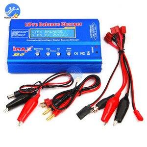 Image 2 - iMAX B6 Li ion Battery Charger RC Lipo NiMh NiCD Battery Power Bank Balancer Charge Discharger LCD Digital Display