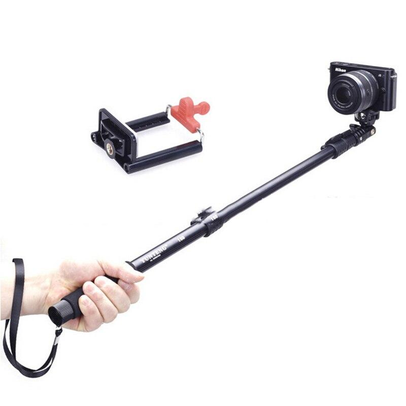 Портативный держатель для мобильного телефона Штатив камера с беспроводной Bluetooth Черный дистанционный Автоспуск артефакт стержень для