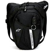 Pacotes de cintura de náilon saco de perna à prova dwaterproof água saco de cintura motocicleta engraçado saco de cinto de gota pacote de fanny