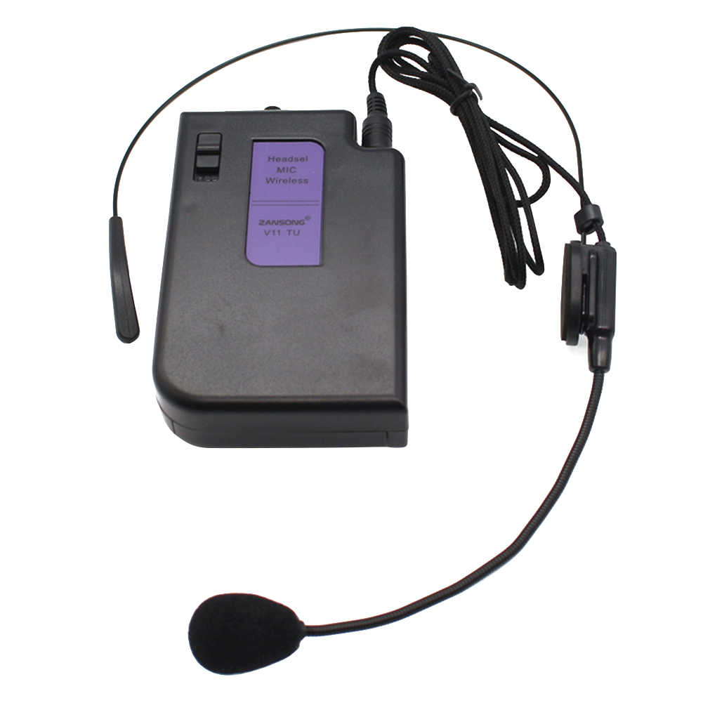 Classroom With Headset Portable Teaching Guide Speech Lapel Mic Stable Teacher Indoor Outdoor Wireless Microphone Set Hands Free