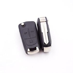 Xinyuexin Автомобильный складной ключ оболочка для Opel Antara AMPERA ключ для Chevrolet Epica 2 3 кнопки управления пустой корпус