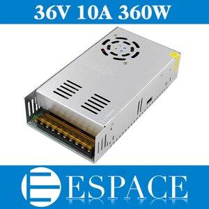 Image 1 - 最高品質 36V 10A 360 ワット用電源ドライバのスイッチング CCTV カメラ LED ストリップ AC 100 240 入力 DC 36V 送料無料