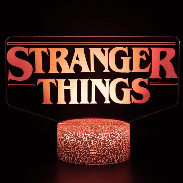 STRANGER THINGS 3D LED LAMP (3 VARIAN)