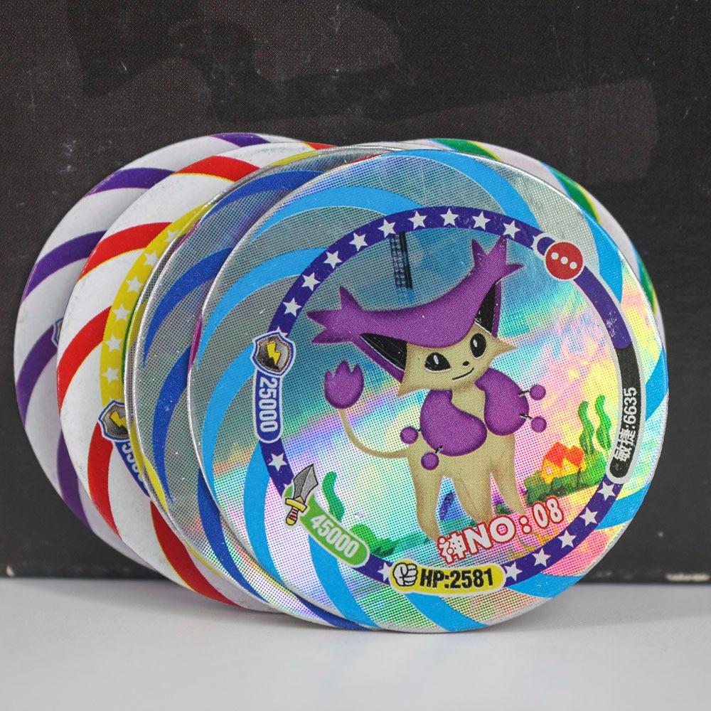TAKARA TOMY 12pcs/set Shining Pokemon Cards Collections Dragon Ball Z Card Ultman Kaiju Goku Flash Card For Kids Christmas Gift