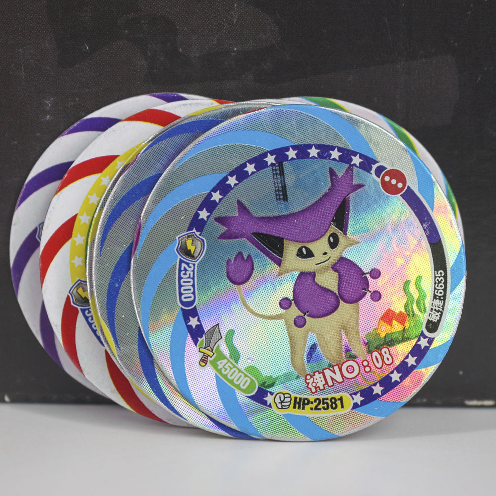 takara-tomy-12pcs-set-shining-font-b-pokemon-b-font-cards-collections-dragon-ball-z-card-ultman-kaiju-goku-flash-card-for-kids-christmas-gift