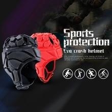 Для мужчин и женщин профессиональный шлем вратаря Регулируемый Футбол Вратарский Шлем Защита дышащая шапка для катания защита головы