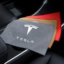 Автомобильный Полотенца микрофибра полотенца для мытья для Tesla модель 3 S X Y Авто очистной люк для окна Care сильной воды впитывающий коралловы...