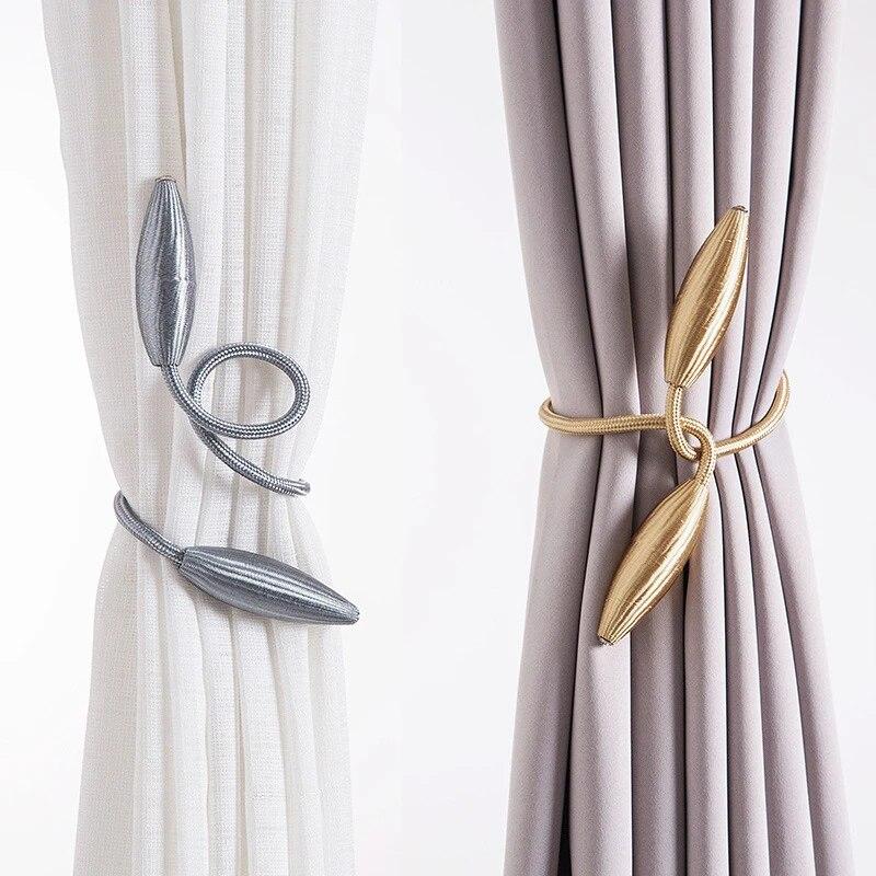 1pcs metal curtain straps european style curtains tieback diy curtain holder buckles window curtain accessories home decor