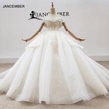 Htl1933 бальное роскошное свадебное платье с бисером и кристаллами