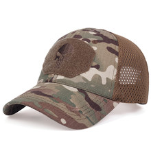 Mode hip-hop männer baseball kappe taktische armee caps Outdoor Sport Military Caps Camouflage Hut baumwolle wilde sonnen hüte snapback hut(China)
