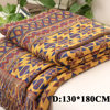 4 Sizes Winter Cotton Woven Line Blanket Sofa Towel Knitted Thickened Warm Pad Mat Bohemian Boho Throw Travel Bedspread