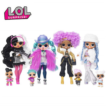 L.O.L Surprise Doll Lol OMG Fashion Big Sister Model Doll Blind Box 11 Inch Doll Hand Toy OMG Second Generation Girls Gifts l o l surprise lol surprise doll big sister cherry glam glitter series 2